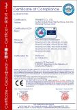 waterdichte Membraan van pvc van 1.5mm het Polyster Versterkte dat vooral voor de Hete Verkoop van het Systeem van het Dak van het Metaal wordt gebruikt