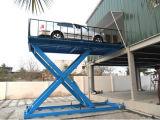 O porão usado Scissor o elevador hidráulico do carro do estacionamento (SJG)
