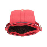 Mode volet selle Tassel Crossbody sac rouge (MBNO042010)