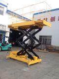 O equipamento de construção Mobile elevador de tesoura (altura máxima de 6 m)