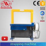 Máquina de colocação de correias Bunding automática para o empacotamento da caixa