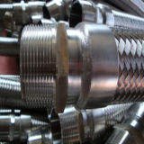 Tuyau métallique souple en acier avec raccords
