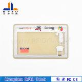Tarjeta elegante termal modificada para requisitos particulares del PVC de la laminación RFID para las aduanas
