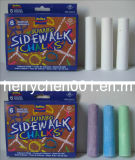 Non Toxic 6 PCS Color Sidewalk Chalk, Sky-502