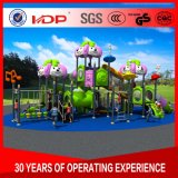 環境の友好的な子供の屋外の運動場、商業屋外の運動場装置の販売HD16-55A