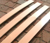 木製のベッドのスラット