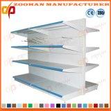Mensola di visualizzazione perforata singolo metallo della parete del supermercato di modo laterale (Zhs550)
