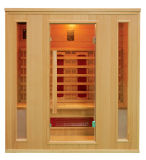 Baracca infrarossa della stanza di sauna per 2 genti