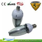 E40/E27/B22 de LEIDENE van de Verlichting van de Straat van de Tuin van de Basis IP65 50W Bol van het Graan