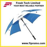 30*8k hand Open Rechte Paraplu voor Afgedrukt