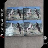 Personalizado Preço barato 2 Horse Animal Game Cards