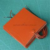 Calefator de placa do elemento de aquecimento da resistência da borracha de silicone