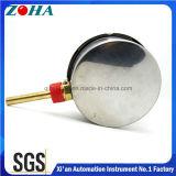 Thermomètre bi-métal de 120/160 degrés Celsius avec Thermowell en laiton