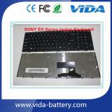 Tastiera del taccuino di riparazione del computer portatile per la tastiera del computer portatile di serie del SONY Vpc-Eh
