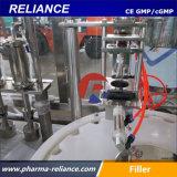 El mejor de la Dependencia Rvfp salina caída de pulverización automática máquina de llenado de botellas
