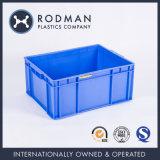 No. 6 플라스틱 용기 쌓을수 있는 표준 HDPE 저장 상자