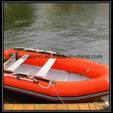 Aqualand 12feet 3.6m 팽창식 어선 또는 고무 모터 배 또는 구조 또는 작은 배 (aql360)