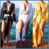 Платье Long Beach Kaftan Swimwear маскировки Бикини женщин лета