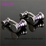 VAGULA Gemelos Hombres camiseta francesa Martillo Esmalte Cuff Links 356