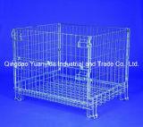 Hc3, das stapelbare Ineinander greifen-Ladeplatten-Behälter für Lager-Stahl faltet, sperrt Gestelle ein