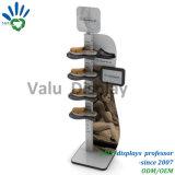 Heißer Verkaufs-moderne Sport-Schuh-Bildschirmanzeige-Zahnstange/Standplatz für Schuh-Speicher