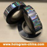 Silbernes Sicherheits-Rollenhologramm-heißes Folien-Stempeln