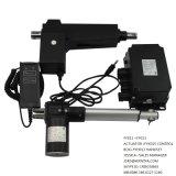 Rappe du dispositif d'entraînement 8000n 200mm du moteur 12V ou 24V linéaire de C.C pour le Tableau de massage (FY013)