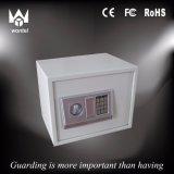 Rectángulo eléctrico de la cabina del depósito seguro de las pequeñas cabinas del metal del bloqueo de la seguridad