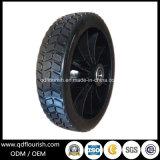Пластиковый обод колеса из твердого каучука 8x2 дюйма для инструмента тележки