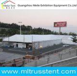Estrutura de alumínio parede ABS e parede de vidro de exposição de automóveis e a promoção tenda
