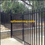 Steel Security Fencing with Spear Top