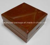 Caja de madera sólida para el reloj