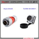 Электрический разъем водонепроницаемый 3-контактный электрический разъем/AC домкрат гидравлический домкрат для разъема