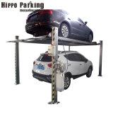 4 Colunas equipamento hidráulico para utilização da garagem