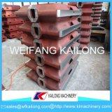 Alto contenitore di sabbia della boccetta della fonderia della casella della fonderia di produzione