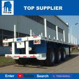 Titaan 3 Aanhangwagen van de Container van de As 40FT Flatbed Semi
