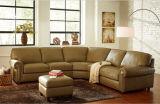 Sofà d'angolo moderno con il sofà sezionale della mobilia moderna