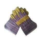 Высокое качество коровы Split кожаные рабочие перчатки