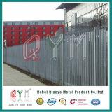 PVC上塗を施してある柵の塀の錬鉄の塀のパネル