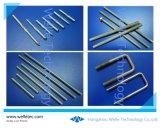 La tige filetée standard de pièces de fixation de la tige en acier et le montage des pièces pour l'industrie générale de l'utilisation, personnalisé