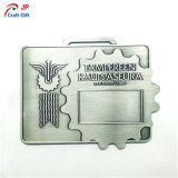 Médaille personnalisée en métal de rectangle pour le souvenir