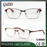 2018 Nuevo Modelo de gafas de metal popular producto bastidor óptica gafas