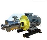 Misturador elevado industrial da tesoura de três estágios Inline para produtos químicos dos líquidos
