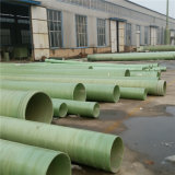 Filament Winding FRP Mortar Pipe High Quality clouded