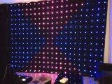 P10cm LED RGB Anblick-Vorhang