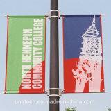 Im Freien Straßen-Pole-bekanntmachende Media-Anzeigen-Fahnen-Stützbefestigungsteile