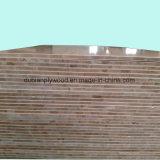 De witte Kern Blockboard van de Populier van Blockboard /18mm van de Melamine Document Onder ogen gezien