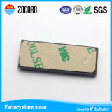 Anti étiquette en métal d'IDENTIFICATION RF avec l'adhésif de 3m