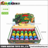 3*5cm banheira Venda Magic Brinquedos de ovos de dinossauro para incubação em crescimento