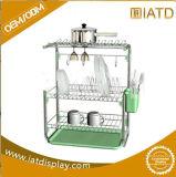 Изготовленный на заказ держатель K-Чашки кофеего провода металла крома
